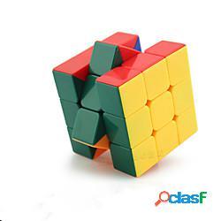 Set speed cube 1 pcs cubo magico cube intuitivo 333 cubi cubo a puzzle livello professionale sollievo dallo stress e dall'ansia giocattolo di fuoco classico per bambini per adulto giocattoli