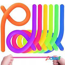 10pcs tagliatelle elastiche tagliatelle giocattolo antistress antistress bambini adulti spremere giocattoli sensoriali regalo miniinthebox