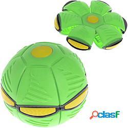 Giocattolo per bambini disco volante palla magica deformazione luce ufo con luce led giocattoli volanti sfiato giocattolo genitore-figlio di decompressione miniinthebox