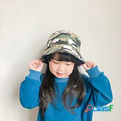 1 pz Bambino / Bambino (1-4 anni) Unisex Essenziale Compleanno / Casuale / Da mare Fantasia geometrica Alla moda Cotone Cappelli e berretti Blu / Verde militare S miniinthebox