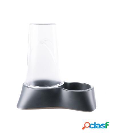 Distributore automatico di crocchette o acqua 0,65l grigio