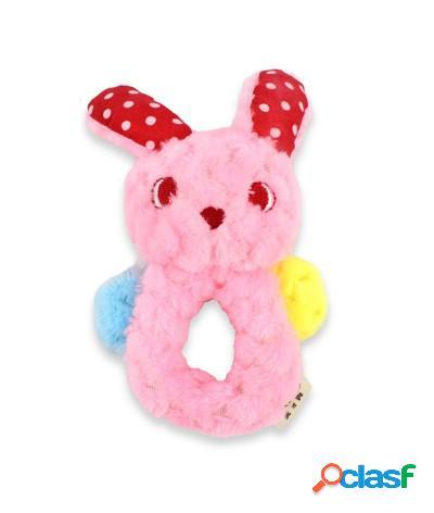 Giocattolo in peluche coniglio per cani con maniglia