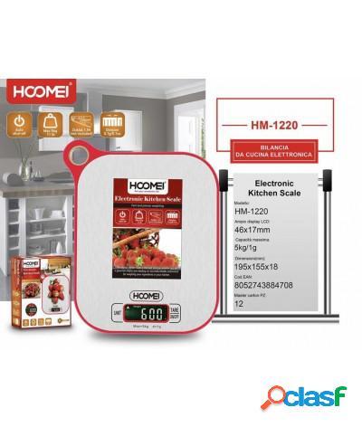 Bilancia elettronica da cucina da appendere fino a 5kg hm-1220