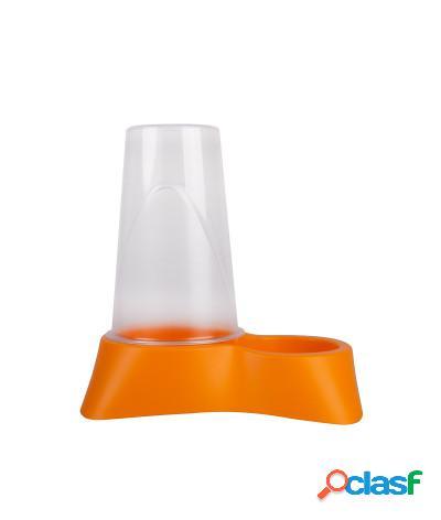 Distributore automatico di crocchette o acqua 1,5l arancio