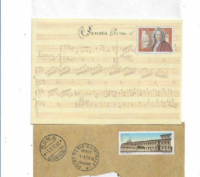 201013 n 6 buste poste italiane nuove sottodescritte caltanissetta - collezionismo in vendita