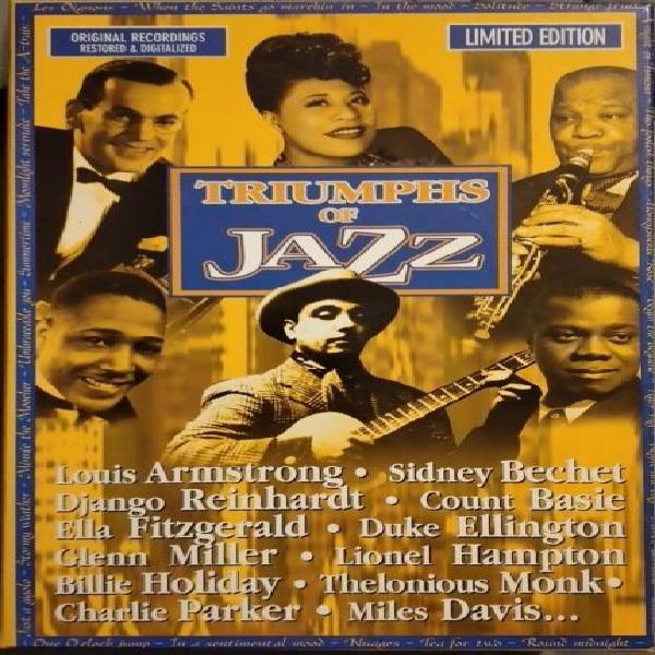 Cofanetto cd musica jazz e blues edizione limitata