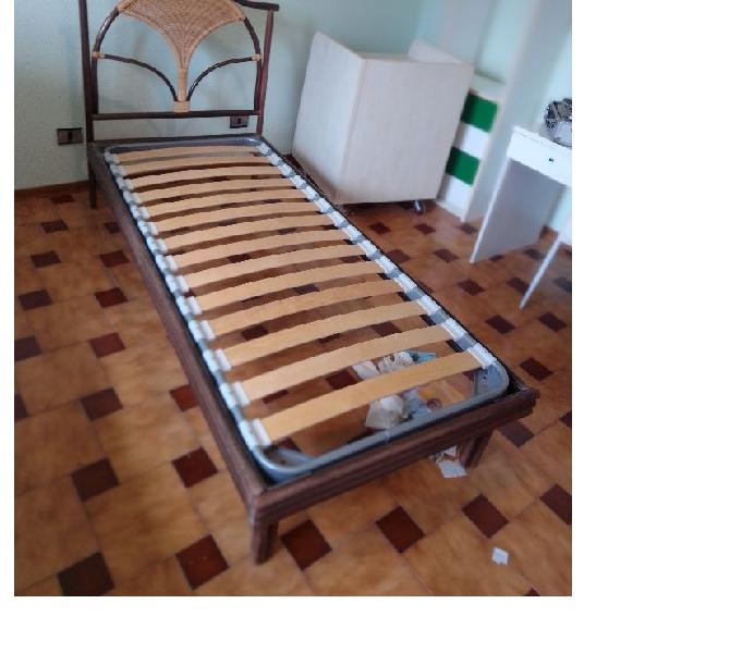 2 letti singoli in bambu' in vendita corridonia - vendita mobili usati