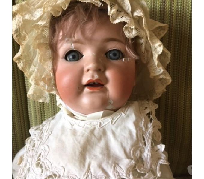Bambola porcellana biscuit napoli