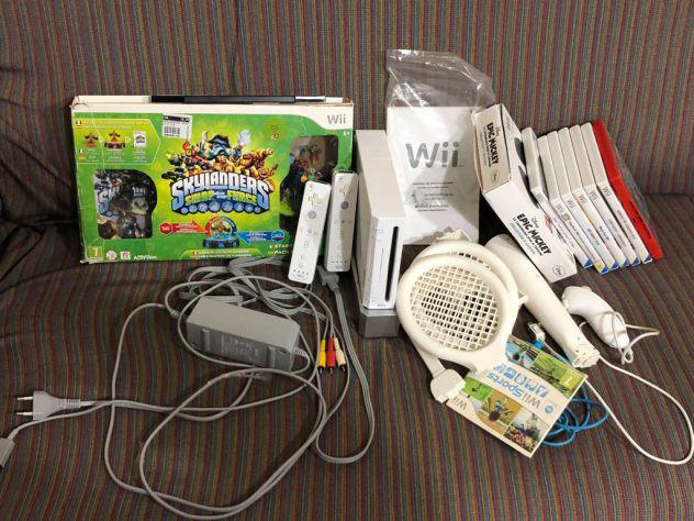 CONSOLE NINTENDO WII + giochi e accessori