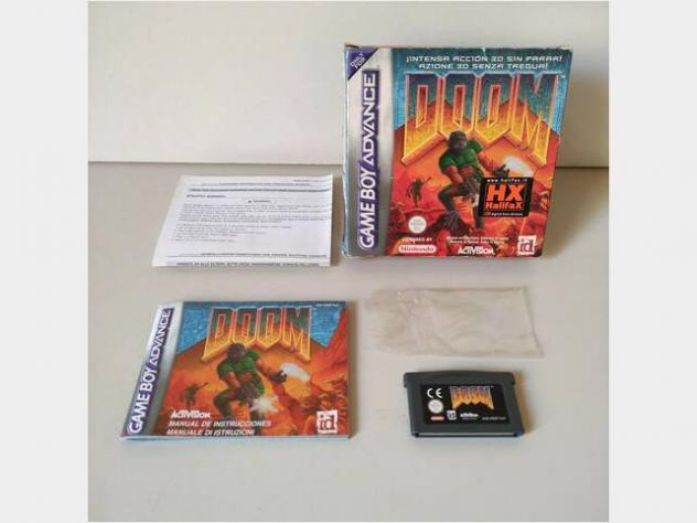 Doom-nintendo game boy advance complete usato