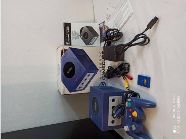 Nintendo gamecube. resident evil usato