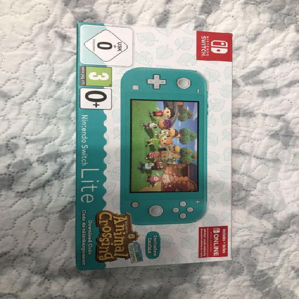 Nintendo Switch Lite Animal Crossing nuova