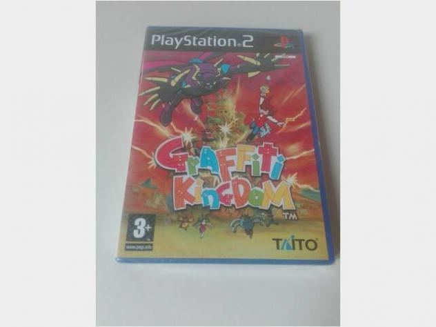 Playstation 2 gioco: graffiti kingdom sigillato ps usato