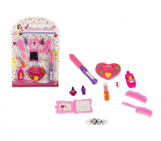Set gioco bambina 104559 salone di bellezza bimba bella