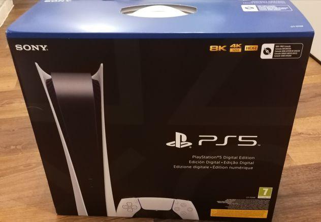Sony PlayStation 5 Digital Edition senza disco