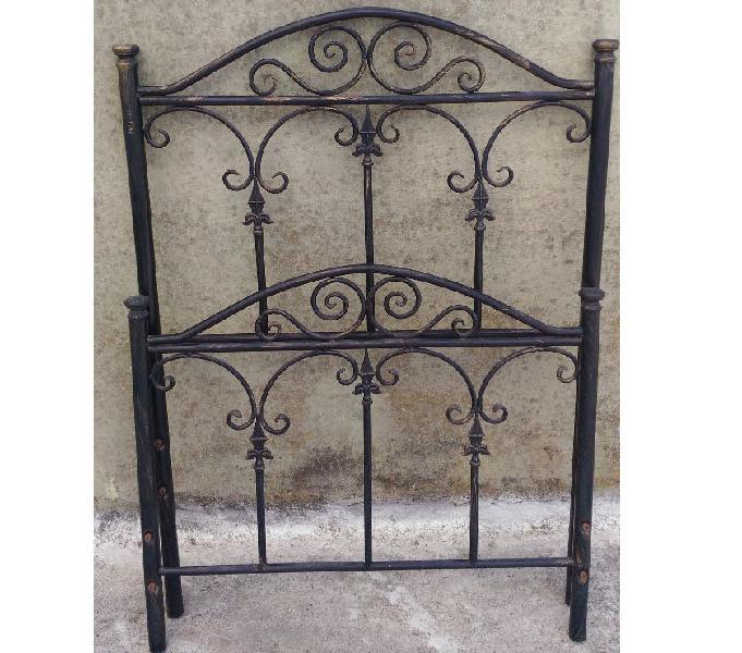 Vendesi struttura letto singolo in ferro battuto palma campania - casalinghi - articoli per casa e giardino