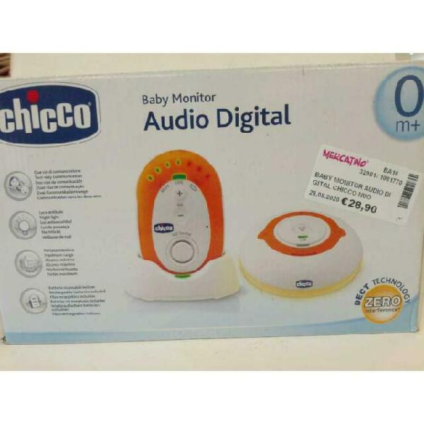 Baby monitor audio digital chicco nuovo dect technology