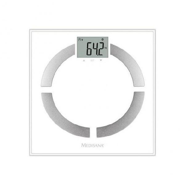 Bilancia digitale da bagno medisana bs 444 bianco