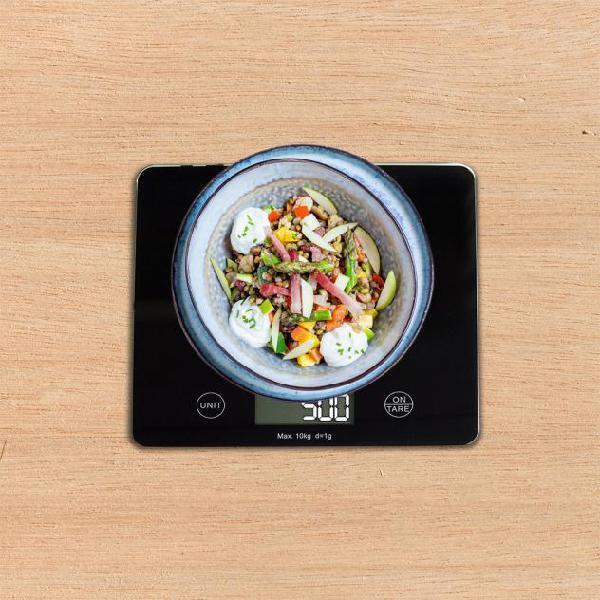 Bilancia digitale da cucina ad alta precisione in grammi