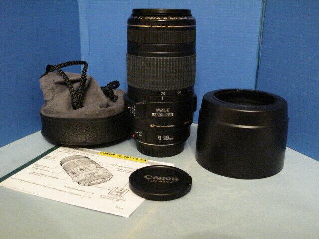 Canon EF 70-300 4-5.6