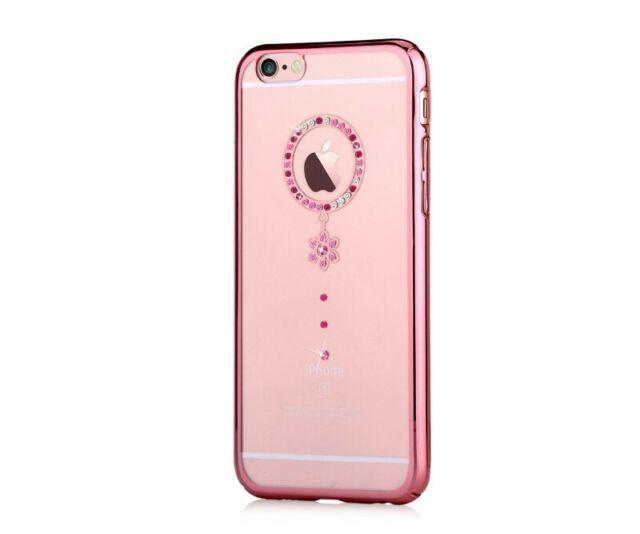 Custodia Swarovski per iPhone 6/6S Crystal Camelia Red RG
