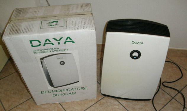 Deumidificatore daya 250w, 2,5 litri, difettoso