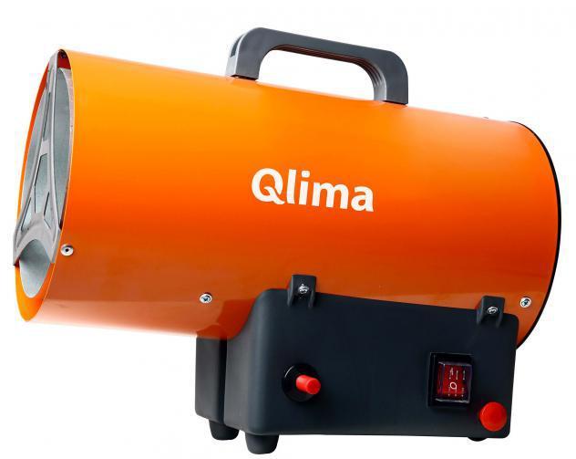 Generatore di aria calda a gas gpl 10kw qlima gfa1010