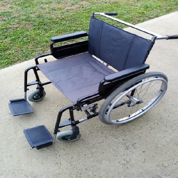Sedia a rotelle, seduta 60 cm, portata 150 kg