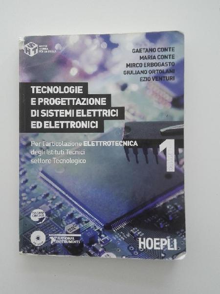 Tecnologie e progettazione di sistemi elettrici ed elettroni