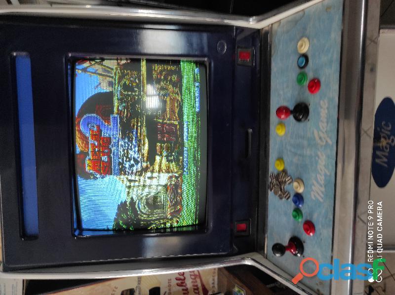 Videogiochi arcade lotta