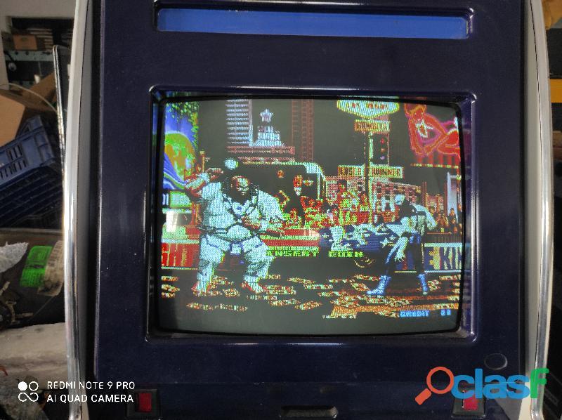 Videogiochi arcade lotta 3