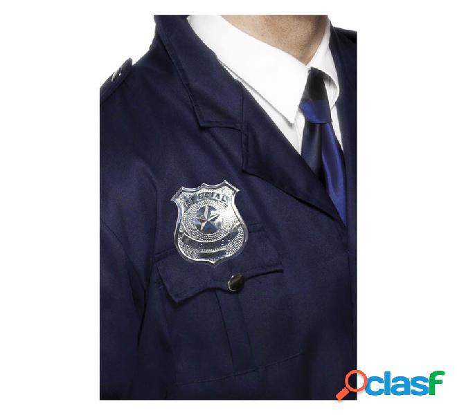 Distintivo della polizia di metallo