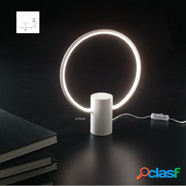 Lampada tavolo cerchio led