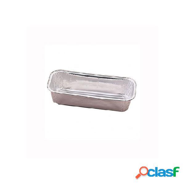 Contenitori rettangolari plumcake in alluminio cl 80
