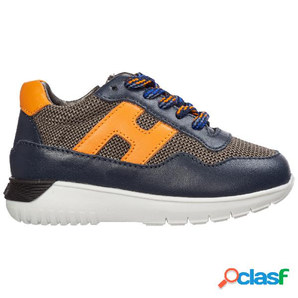 Scarpe sneakers bimbo bambino pelle interactive3