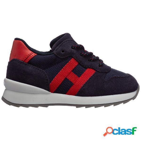 Scarpe sneakers bimbo bambino pelle r261