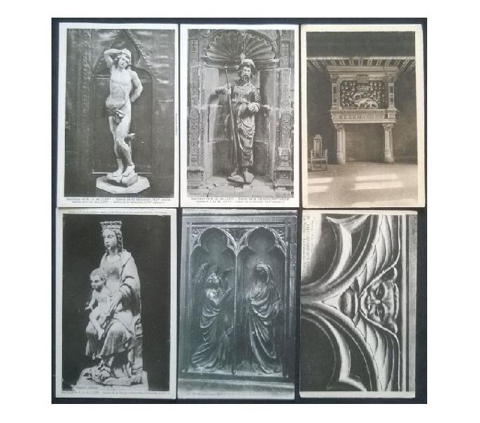 France francia_centre 6 cartoline bn fp nv ct#04 san donà di piave - collezionismo in vendita