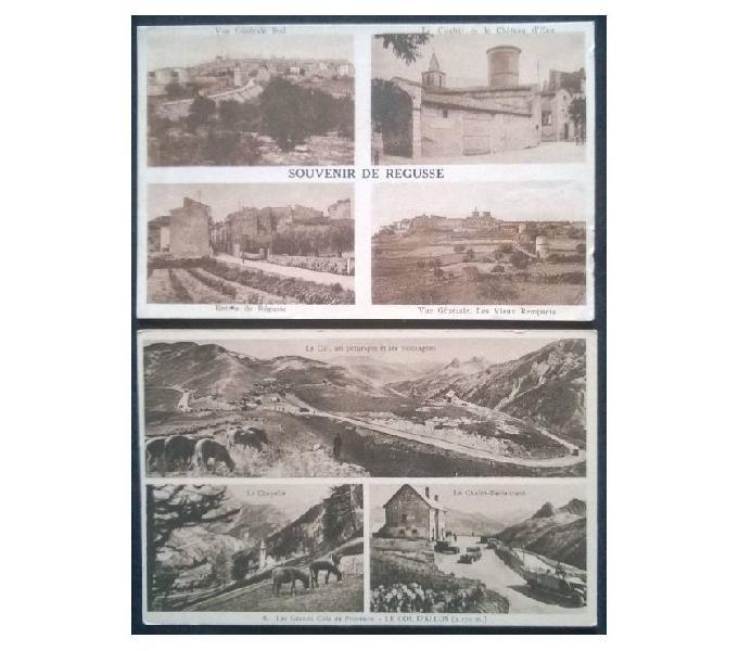 France francia_provence 2 cartoline bn fp pv#01 san donà di piave - collezionismo in vendita