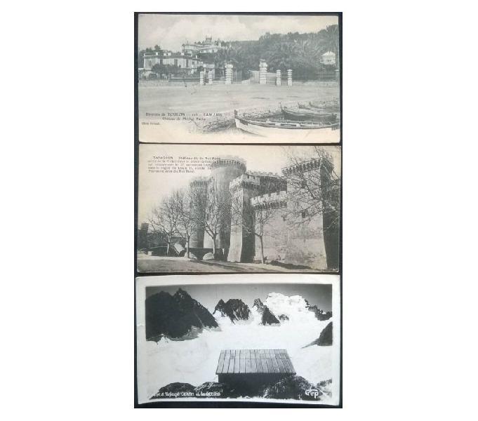 France francia_provence 3 cartoline bn fp pv#02 san donà di piave - collezionismo in vendita