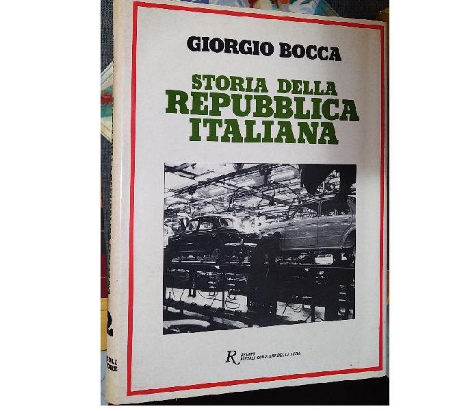 """Giorgio bocca """" storia della repubblica italiana """"prima ediz anzio - collezionismo in vendita"""