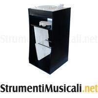Sefour vinyl storage stand black