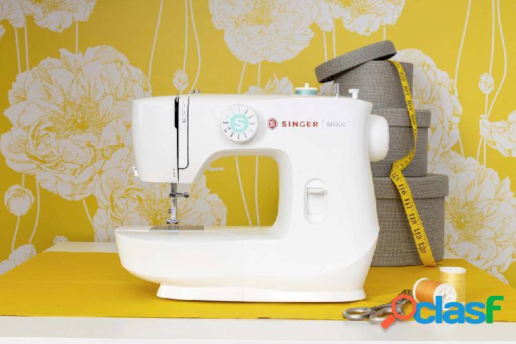 Singer macchina per cucire a braccio libero m1505 bianco