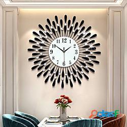Ferro orologio creativo orologio appeso soggiorno orologio decorativo orologio al quarzo elettronico lightinthebox