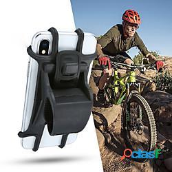 Supporto porta telefono per bicicletta in silicone per supporti smartphone da 4 - 6 pollici supporto per clip gps per manubrio per bici moto manubrio 4.7 lightinthebox
