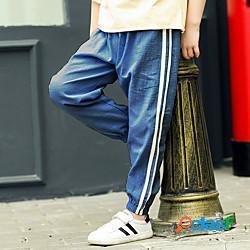 Bambino bambino (1-4 anni) da ragazzo pantaloni a strisce a cordoncino casual quotidiano nero blu cachi attivo 2-12 anni lightinthebox
