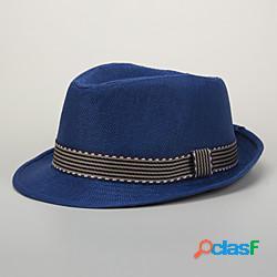 Bambini neonate 1pcs compleanno attivo casual abbigliamento quotidiano a righe in tinta unita eleganti cappelli in poliestereamp; berretti nero rosso cachi s miniinthebox