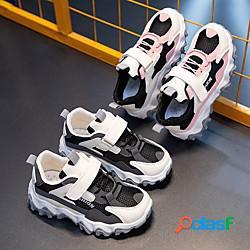 Unisex sandali comoda scarpe da scuola pu mary jane ragazzini (4-7 anni) ragazzi (7 anni) quotidiano interni corsa footing nero rosa primavera estate miniinthebox