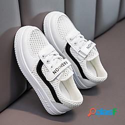Unisex scarpe da ginnastica comoda scarpe da cerimonia per bambine scarpe da principessa retato scarpe con tacchi ragazzi (7 anni) addestramento quotidiano corsa footing nero rosso verde prim