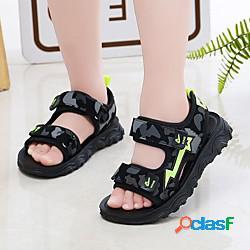 Unisex sandali comoda scarpe da principessa scarpe da scuola eva scarpe con tacchi ragazzi (7 anni) quotidiano interni footing rosso arancione verde primavera estate miniinthebox