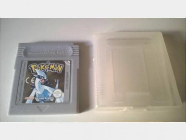 Nintendo gameboy pokemon argento italiano usato